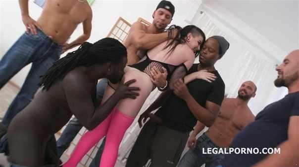 10On1 Double Anal Creampie Gangbang With Lydia Black Balls Deep Anal, Dap, Gapes, Creampie Swallow Gio803