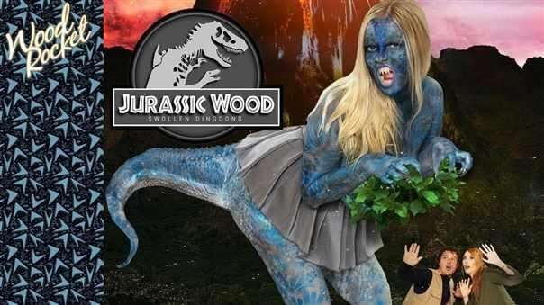 Lauren Phillips, Codi Vore  - Jurassic Wood Swollen Dingdong  (HD)