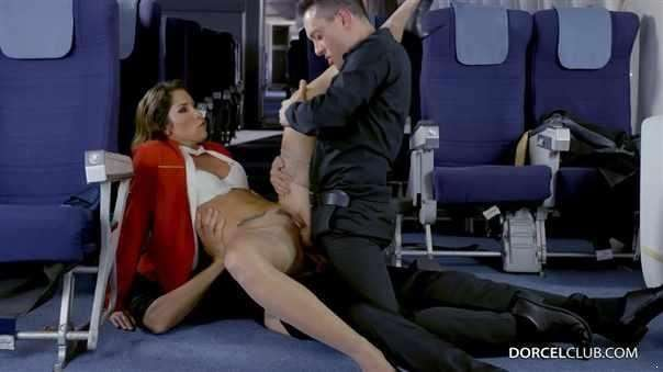 Stewardess In Seventh Heaven