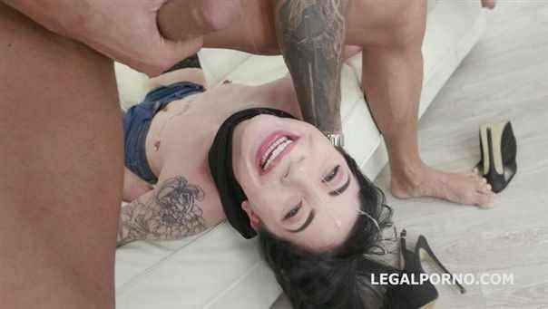 Charlotte Sartre, Angelo, Michael Fly, Dorian Del Isla, Larry Steel -  Gagland Wet Edition, Charlotte Sartre Gets Gagged Manhandled, Pissed By 4 Guys With Drink Facial Gio914  [SD/480p]