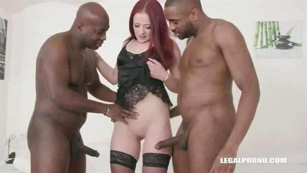 Stiffany Love, Joachim Kessef, Darnell Black - Young Stiffany Love Enjoys Anal Sex First Time With Black Guys Iv286 (SD)