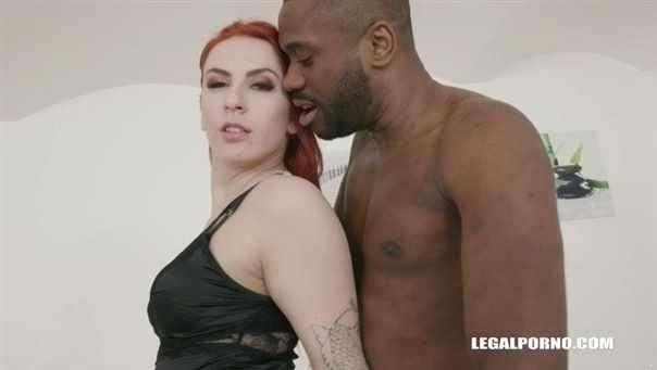 Meghan Rain Discovers Black Feeling And Enjoys Her First Anal Iv284