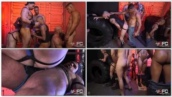 Sean Harding Gang Bang Part 1  R449