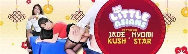 Jade Kush, Nyomi Star - Asian Labia For Lunch [HD]