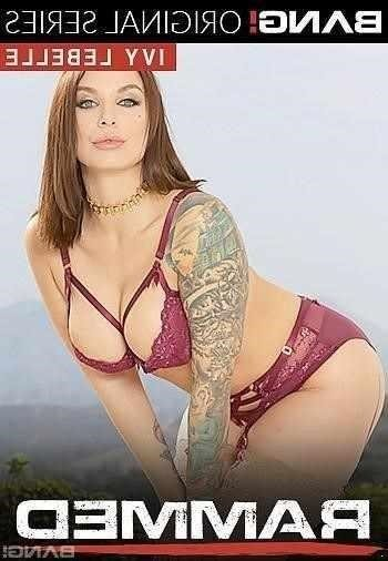 Tattooed Red Head Ivy Lebelle Goes Ass To Mouth After Getting Rammed!