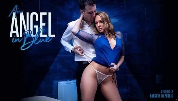 Blue Angel - An Angel In Blue Naughty In Public (HD)