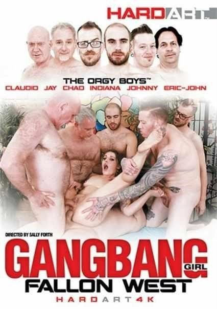 Gangbang Girl Fallon West Hard Art