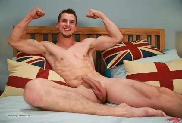 Ripped Straight Lad Ellis Shows Off His Hot Body And Wanks His Long Hard Uncut Cock  More