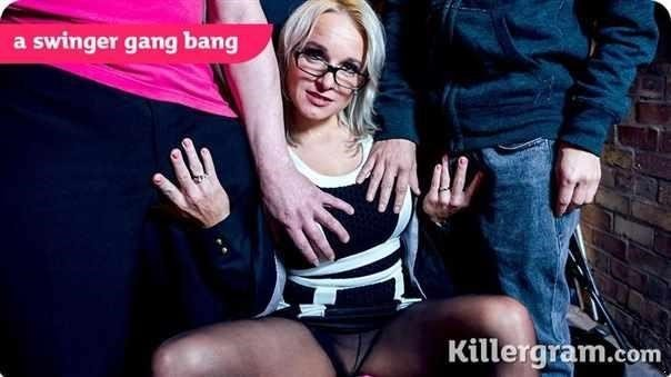 A Swinger Gang Bang (SD)
