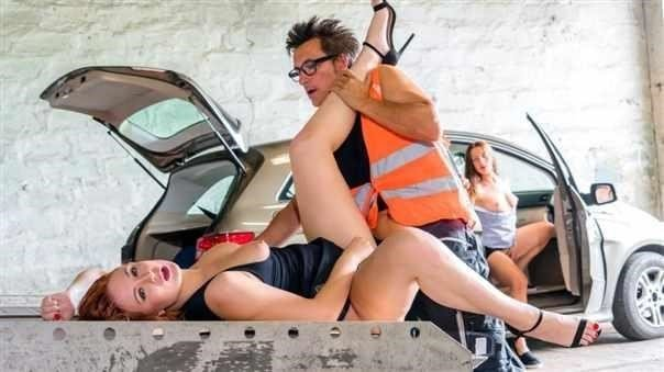 Eva Berger  BROKEDOWN BABES - Friendly Truck Driver [SD/480p]