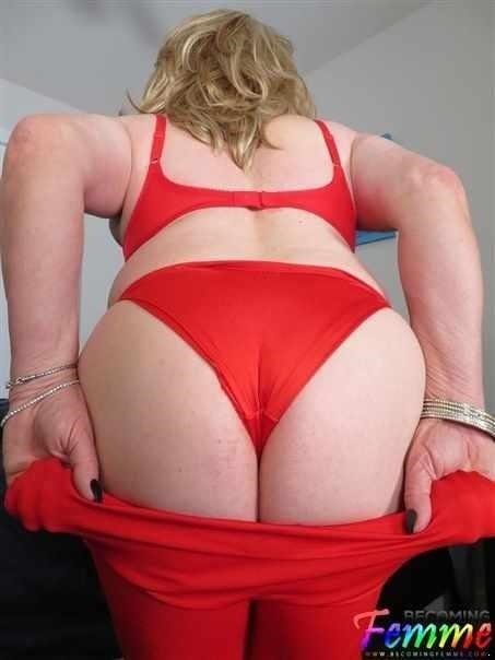 Rita Stevens - Horny Crossdresser Adores A Big Dick (HD)