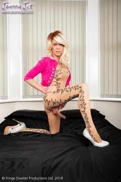Ts  Joanna Jet  Me And You 352  Patterned Bodystocking (FullHD)