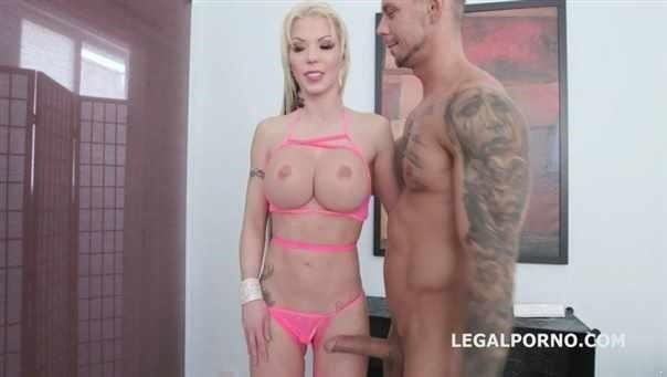 She Is A Monster Barbie Sins Goes All In, Balls Deep Dap, Tp, Tap, Quap Gio986